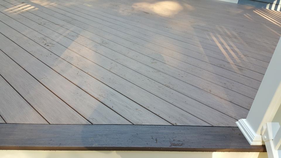 Pvc deck re skin for Ipe decking vs trex