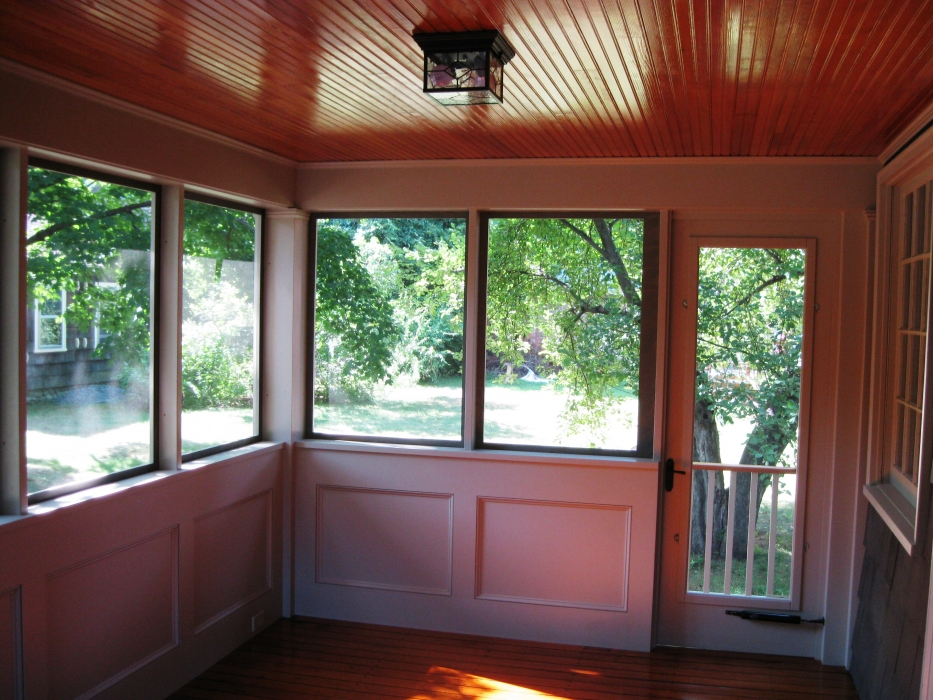 Screen Porch Converted To 3 Season Room